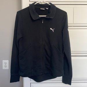 Puma Black Full Zip Up